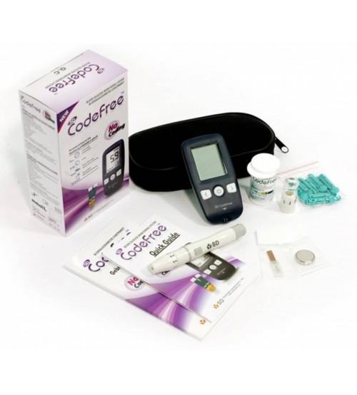 เครื่องตรวจน้ำตาลในเลือด SD Codefree